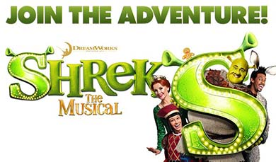 Auditions for Shrek The Musical